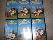 18 VHS Videos von Heidi