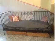 Tagesbett Metallbett Bett Sofa 100