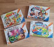 Tiptoi Spiele Set 4 Stück