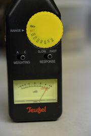 Teufel - Schall - Messgerät