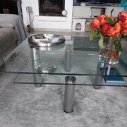 couchtisch glas 90 x 90