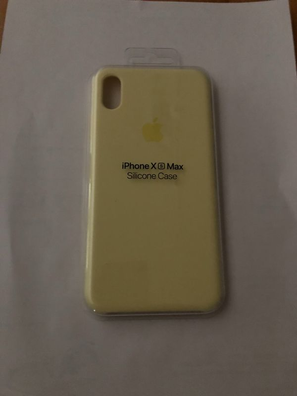 iPhone XS Max Silikoncase