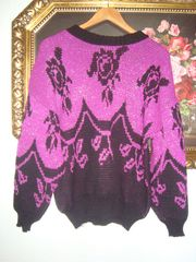 Vintage Pullover - 80er Jahre - Gr