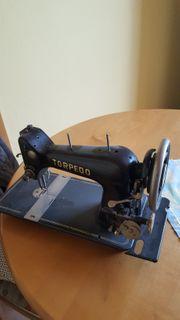 Alte Torpedo Nähmaschine