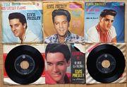6 ELVIS PRESLEY Vinyl-Singles 1958-1962