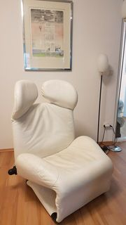 Cassina Relaxsessel Weiss