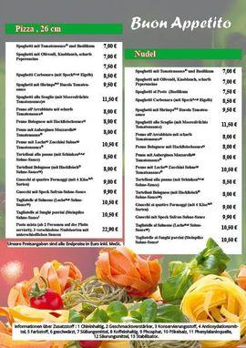 Bild 4 - Pizza Flyer Flyer Lieferservice Imbiss - Hanau