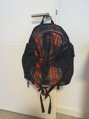 Rucksack Burton Rot Schwarz 50x31x18cm