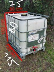 Wasserbehälter Regentonne