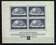 Österreich WIPA-Block Faser ANK 556A