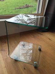 Beistelltisch Glas