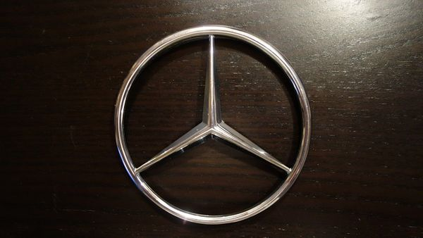 mercedes stern emblem w 116 kofferraum art. Black Bedroom Furniture Sets. Home Design Ideas