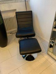 2 Sessel mit Fußteile
