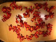 Deko - Herbstlaub Girlanden