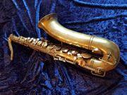 Buescher Aristrocrat Tenor Saxophon 1