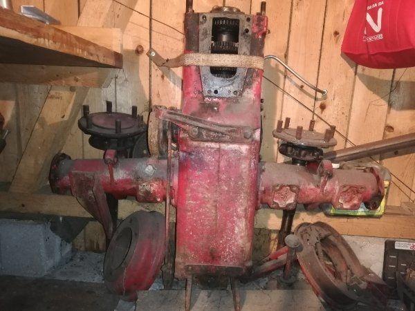 Oldtimer Getriebe Halbachsen Traktor Porsche