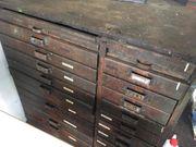 Werkzeugschrank Schubladenschrank Antik