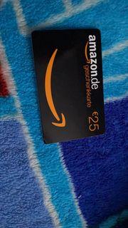 Amazon Gutschein 25EUR