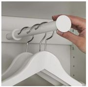 Ikea KOMPLEMENT Kleiderstange in weiß