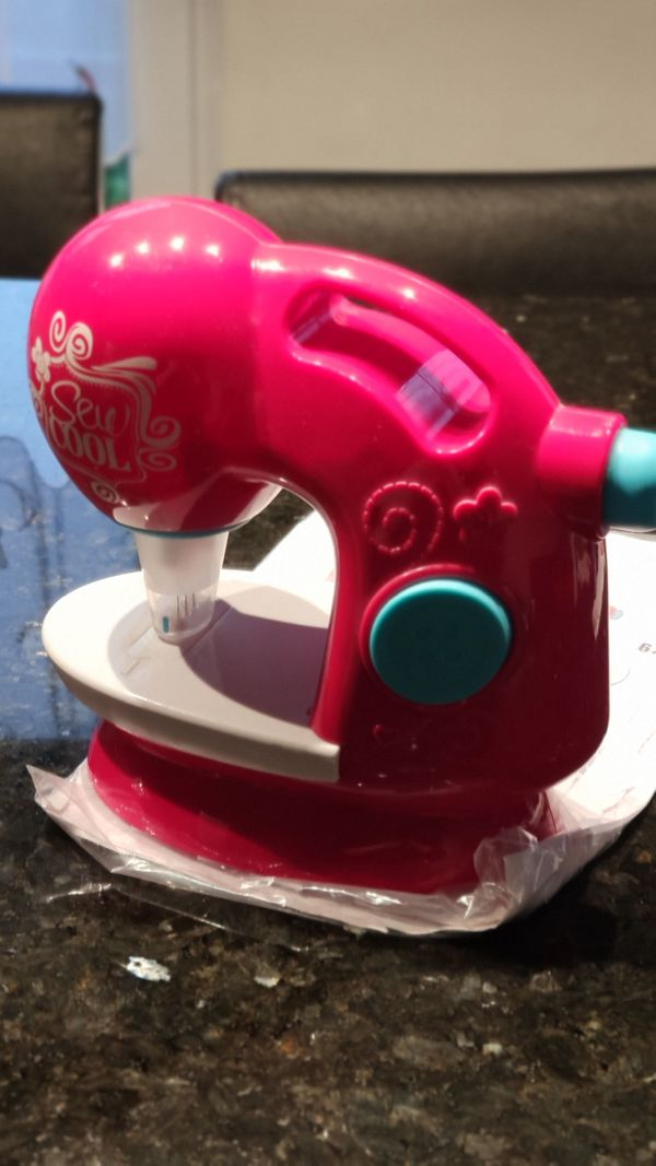 Sew Cool Kindernähmaschine pink zum