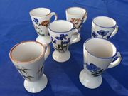 6 Keramik Trinkbecher
