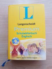 Langenscheidt Premium Schulwörterbuch Englisch