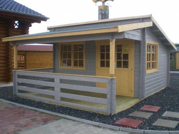 Fußboden Terrasse ~ Gartenhaus blockhaus m m terrasse und fußboden in