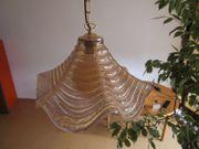 Lampe Glas Opalglas Hängelampe für