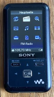 Sony Walkman Radio MP3-Player MWZ-S615F