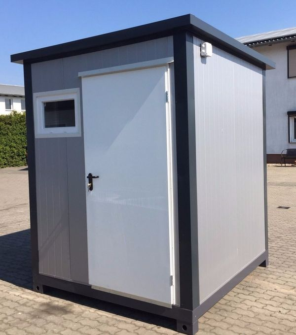 Premium WC Container Toilettenbox Campingplatz-Toilette ...