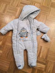 Baby Winter-Overall neuwertig für das