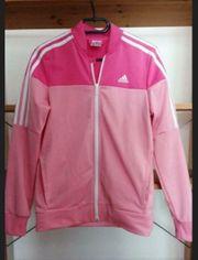 Adidas Trainingsjacke Mädchen Sportjacke Gr. 36 ca. Gr. 164