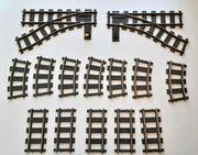 Lego Eisenbahn 9 V Weichen