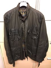 Barbour International Quillted Wachsjacke Gr