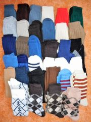 34 Paar neue Socken