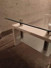 Couch Tisch aus glass