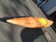Kayak mit Spritzdecke