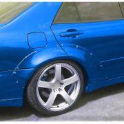 Lexus IS200 1 Kotflügelverbreiterung hinten