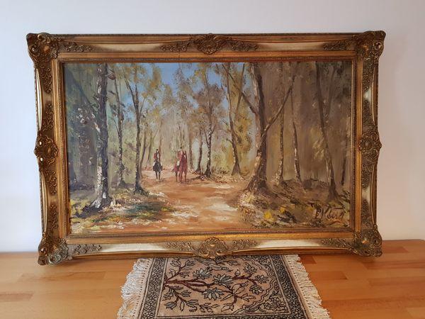 Ölgemälde des renomierten Künstlers Eduard
