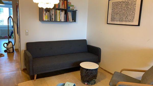 Schlafsofa Sofa Daru 1 Home 24 wie neu Nordic Design ansonsten einfach kommen, anschauen und mitnehmen .MaßeBreite: 210 cmHöhe: 82 cmTiefe: 88 cmSitzhöhe: 43 cmSitztiefe: 55 cmLiegefläche: 110 x 190 cmWeiterer Informationen zum Produkt:https://www.home24.de/produkt/schlafsofa-daru-i-webstoff-