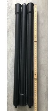 3 Verlängerungsrohre je 55 cm