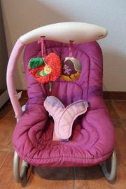Babywippe MIA Lila incl Zubehör