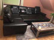 Hochwertige sehr große Ledercouch Sofa