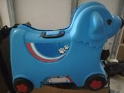 Lustiger Koffer für Kinder
