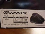 schwarze Fersenroller Heelys Wheelys Gr