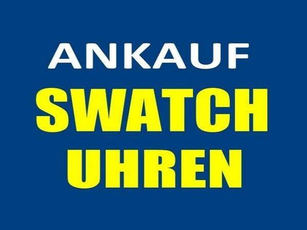 Ankauf SWATCH Uhren auch Sammlungen