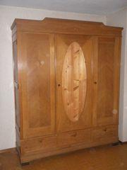 Kleiderschrank Eiche mit 3 Türen