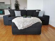 Kivik 3-er Couch und Hocker