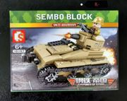 Klemmbausteine Sembo Block Panzer Set