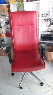 Roter Schreibtischstuhl Stuhl